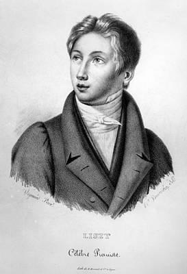 Portrait Of Franz Liszt As A Boy Poster
