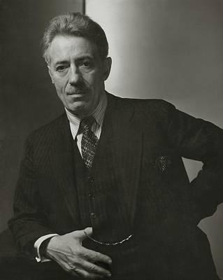 Portrait Of Fritz Kreisler Poster