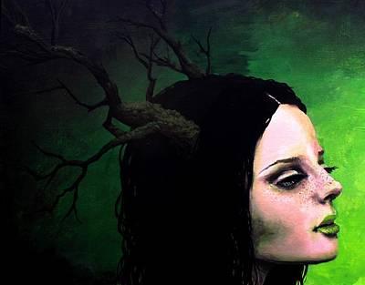 Portrait Of Gaia Poster