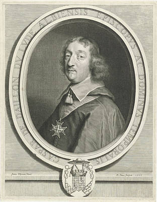 Portrait Of Gaspar De Daillon Du Lude, Nicolas Pitau Poster by Nicolas Pitau I