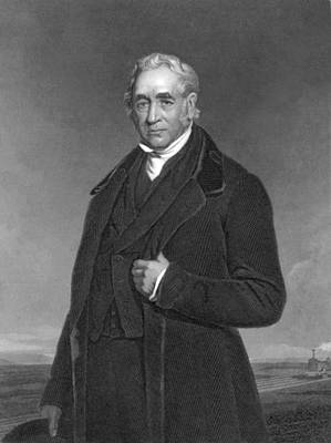 Portrait Of George Stephenson Poster by Underwood Archives