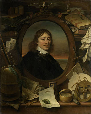 Portrait Of Gerard Pietersz Hulft, First Councilor Poster by Litz Collection