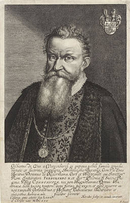 Portrait Of Gijsbertus De Vos Van Vossenburch Poster by Litz Collection