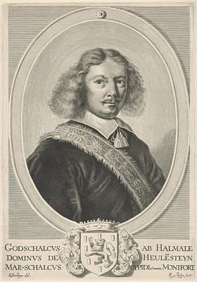 Portrait Of Godschalck Of Halmale, Reinier Van Persijn Poster by Reinier Van Persijn
