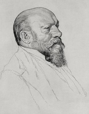 Portrait Of Hans Richter Poster by William Strang