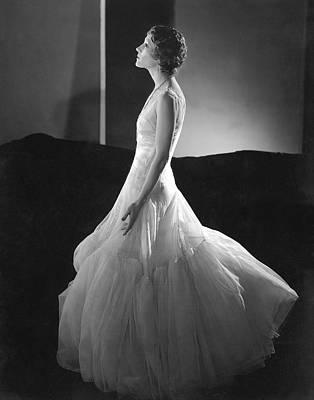 Portrait Of Helen Menken Poster