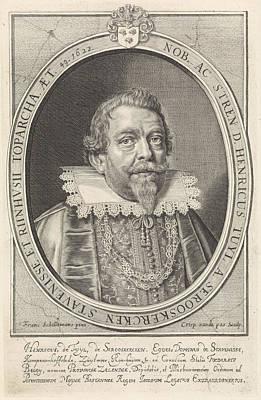 Portrait Of Henry Tuyll, Crispijn Van De Passe Poster by Crispijn Van De Passe (i)
