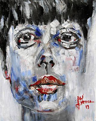 Portrait Of Illustra Poster by Jim Vance