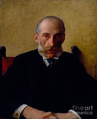 Portrait Of Isidor Gewitsch Poster