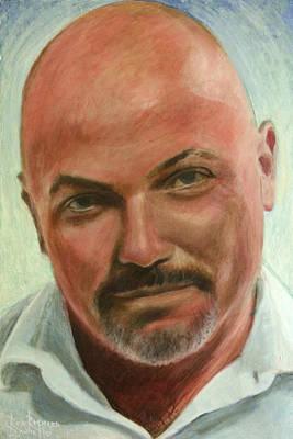 Portrait Of Jamez Ronald Prudlick Poster