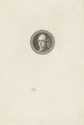 Portrait Of Jan Jacob Elsevier Poster