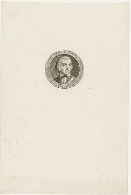 Portrait Of Jan Stockelaar Van Eyk Poster by Quint Lox