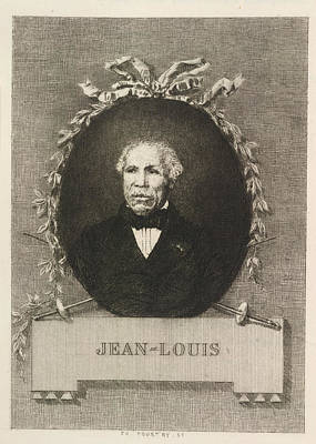 Portrait Of Jean-louis Poster by British Library