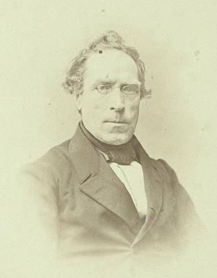 Portrait Of J.j.p. Valeton, Professor In The Faculty Poster
