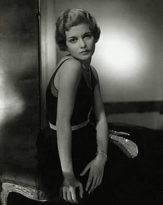 Portrait Of Joan Bennett Poster