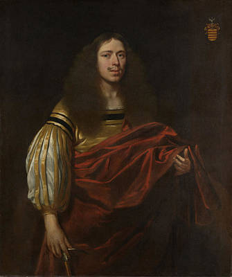Portrait Of Johan Servaes Van Limburg, Dean Of The Chapter Poster by Litz Collection