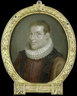 Portrait Of Johan Van Der Does The Younger Poster by Litz Collection