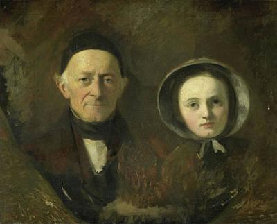 Portrait Of Johann Joseph Hermann, The Artists Father-in-law Poster