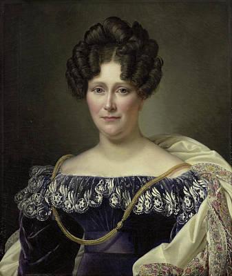 Portrait Of Johanna Henriette Engelen, Second Wife Poster