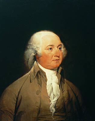Portrait Of John Adams, C.1793 Oil On Canvas Poster by John Trumbull