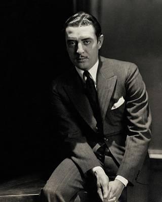 Portrait Of John Gilbert Poster
