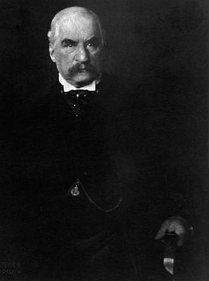 Portrait Of John Pierpont Morgan Poster