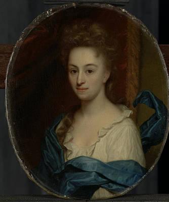 Portrait Of Josina Clara Van Citters, 1671-1753 Poster by Litz Collection