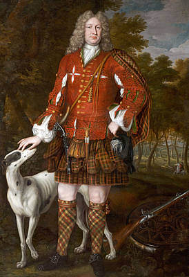 Portrait Of Kenneth Sutherland, 3rd Lord Duffus D.1732 Poster by Richard Waitt