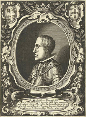 Portrait Of King Philip Iv Of Spain Poster by Willem Outgertsz. Akersloot