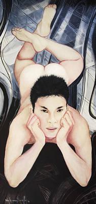 Portrait Of Konain Kwan Poster