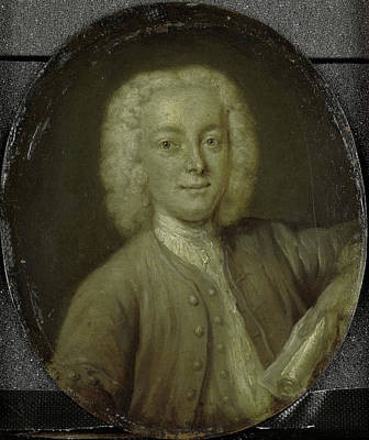 Portrait Of Lucas Pater, Merchant And Poet In Amsterdam Poster