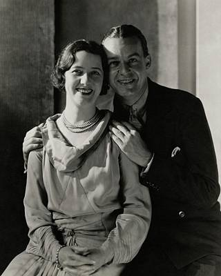 Portrait Of Lynn Fontanne And Alfred Lunt Poster