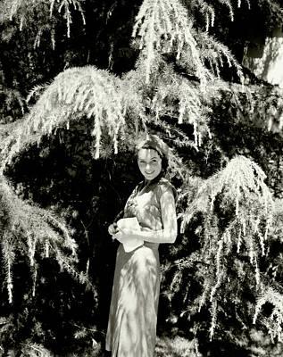 Portrait Of Maureen O'sullivan Poster by Edward Steichen