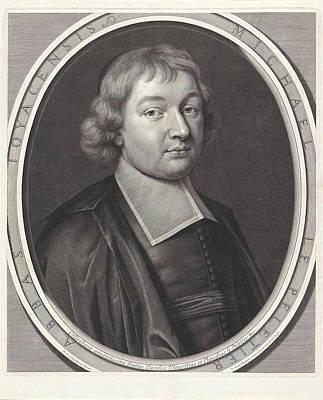 Portrait Of Michel Le Peletier, Pieter Van Schuppen Poster by Pieter Van Schuppen