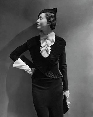 Portrait Of Mlle. Koopman Poster by George Hoyningen-Huen?