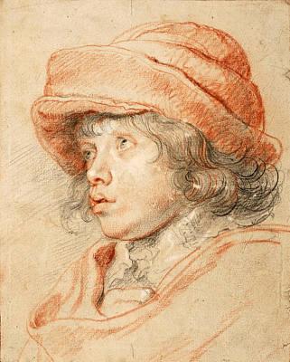 Portrait Of Nicolaas Rubens Poster by Peter Paul Rubens
