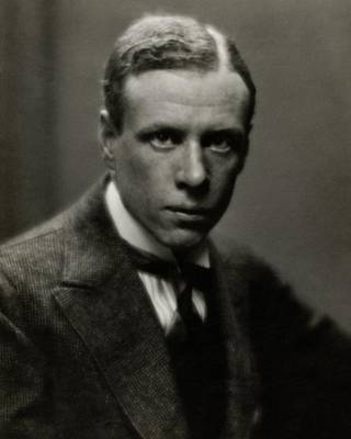 Portrait Of Novelist Sinclair Lewis Poster by Arnold Genthe