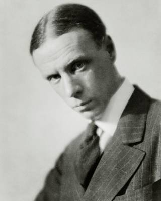 Portrait Of Novelist Sinclair Lewis Poster