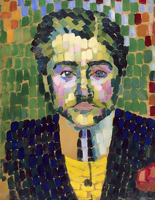 Portrait Of Painter Jean Metzinger Poster by Mountain Dreams