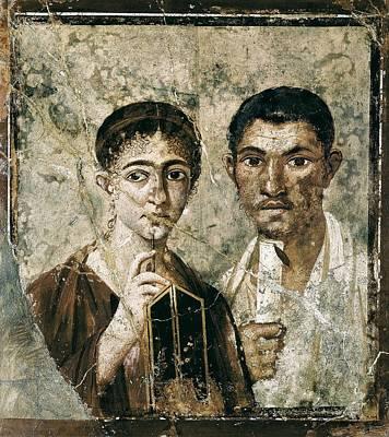 Portrait Of Paquius Proculus Poster by Everett