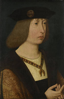 Portrait Of Philip The Fair, Duke Of Burgundy Poster