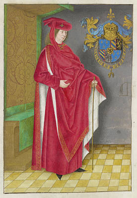 Portrait Of Philip The Good Poster