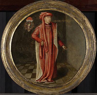 Portrait Of Philip The Good, Duke Of Burgundy Poster