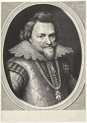 Portrait Of Philip William, Prince Of Orange Poster by Prince Of Orange And Willem Jacobsz. Delff And Michiel Jansz Van Mierevelt