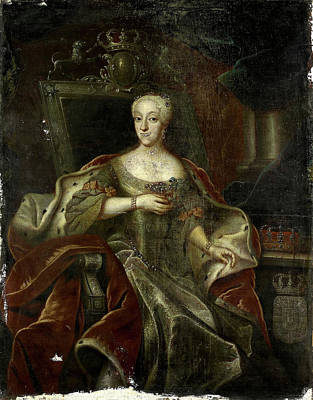 Portrait Of Princess Charlotte Amalie, Daughter Poster