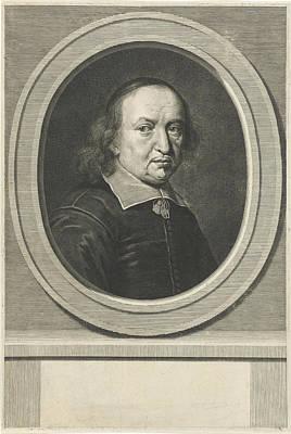 Portrait Of Reinhold Curike Poster by Johannes Willemsz. Munnickhuysen