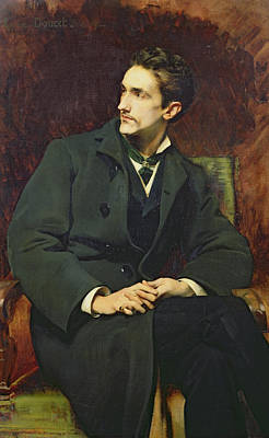Portrait Of Robert Count Of Montesquiou-fezensac Poster by Henri Lucien Doucet