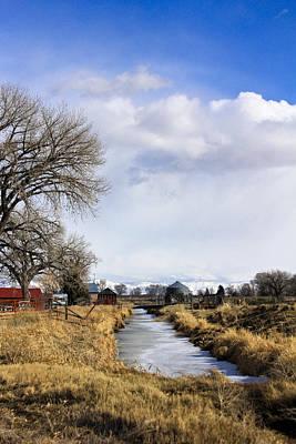 Portrait Of Rural Colorado Poster