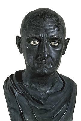 Portrait Of Scipio Africanus The Elder Poster by Everett