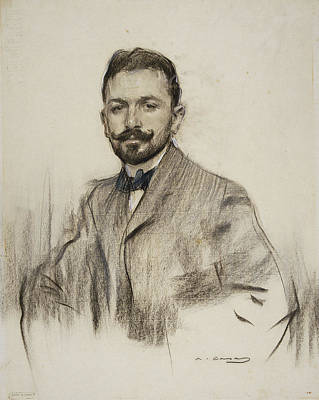 Portrait Of Serafin Alvarez Quintero Poster